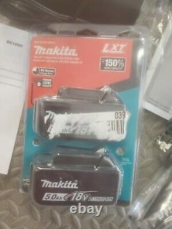 Makita XPH14 New Release 18v LXT 1/2 Hammer Drill, Charger, 5.0 Battery (2)