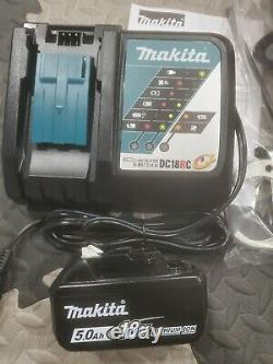 Makita XPH14 New Release 18v LXT 1/2 Hammer Drill, Fast Charger, 5.0 Battery
