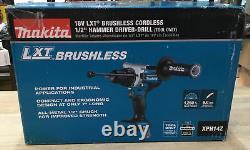 Makita XPH14Z 18V LXT LiIon Brushless Cordless 1/2 Hammer Driver Drill NEW