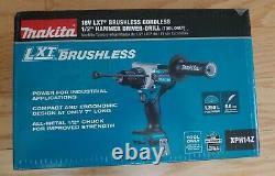 Makita XPH14Z 18V LXT LiIon Cordless Brushless 1/2 Hammer Drill Driver. NEW
