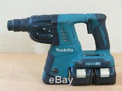 Makita XRH05 36V Cordless Rotary Hammer Drill, SDS-Plus, Batteries, Charger, Bag