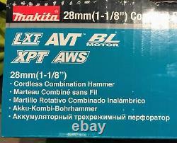 Makita XRH10Z 18V X2 LXT 36V 1-1/8 Brushless Cordless SDS+ Rotary Hammer Drill
