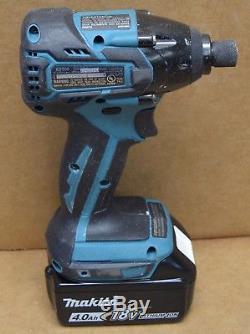 Makita XT248MB 18V LXT LiIon Brushless Drill Impact Driver Combo Kit