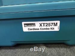 Makita XT257M 18V 4.0ah LXT Hammer Drill & Impact Driver Tool Kit