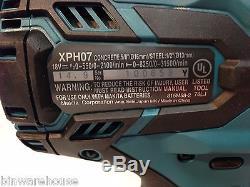 Makita XT259PMB NEW LXT 18V 4.0 Ah Li-Ion Circular SawithBL Hammer Drill Kit
