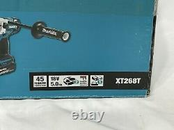 Makita XT268T 18V Brushless Cordless Impact Driver and Hammer Drill Combo Kit