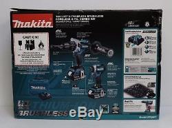 Makita XT268T 18V LXT Brushless Cordless Hammer Drill / Impact Driver Combo Kit