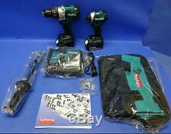 Makita XT268T 18V LXT Lith-Ion Brushless 1/2 Hammer Drill & 1/4 Impact Driver