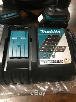 Makita XT268T 18V LXT Lithium-Ion Brushless Hammer Drill & Impact Driver