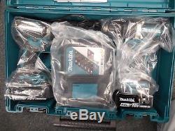 Makita XT269M 18V Cordless Combo LXT Cordless Brushless Impact Hammer Drill Kit