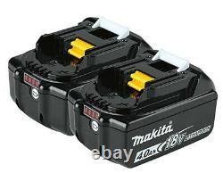 Makita XT269M 18V LXT Brushless Drill/Driver Combo Kit 4.0Ah