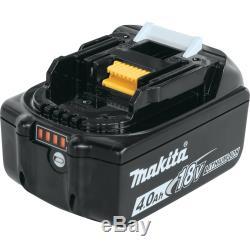 Makita XT269M 18V LXT Hammer Drill / Impact Driver 2-Tool Combo Kit (4 Ah)