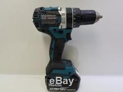 Makita XT269M 18V LXT Li-Ion Brushless Cordless Hammer Drill & Impact Combo Kit