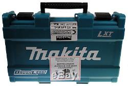 Makita XT269M 18V LXT Lithium-Ion Brushless Cordless 2-Pc. Drill Kit (REFURB)