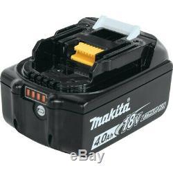 Makita XT269M-R Recon 18V LXT Hammer Drill / Impact Driver Combo Kit (4 Ah)
