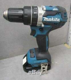 Makita XT269R Hammer Drill XPH12 and Impact XDT13 Driver Set with 2 Batteries