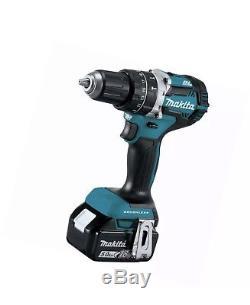 Makita XT275PT 18-Volt 5.0Ah 2-Tool Cordless Drill and Impact Driver Combo Kit