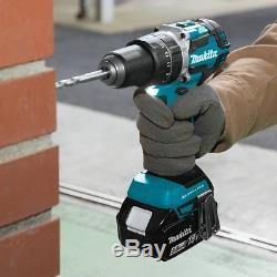 Makita XT275PT 18V LXT Cordless Hammer Drill and Impact Driver Combo Kit 5.0 Ah