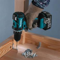 Makita XT279S 18-Volt LXT 3.0Ah 2-Tool Drill Driver and Impact Driver Combo Kit