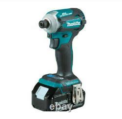 Makita XT288T 18V LXT Li-Ion Brushless Hammer Drill & Impact Driver Kit 5.0 Ah