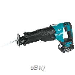 Makita XT448T 18-Volt 4-Piece Reciprocating/Circular Sawith and Drill Combo Kit