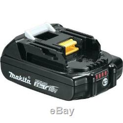 Makita XTR01Z 18V BL Router + Makita 18V XPH12Z BL Hammer Drill w 2 batteries