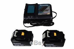 Makita Xt268t 18v Lxt Lithium Ion Brushless 1/2 Drill + Impact Driver Combo Kit