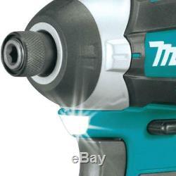 Makita Xt268t 18v Lxt Lithium Ion Brushless Drill & Impact Driver Combo Kit