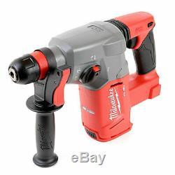 Milwaukee M18CHX 18V Fuel SDS+ Hammer Drill + Makita D-21200 SDS-Plus 17 Pieces