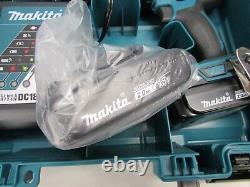 NEW! MAKITA 1/2 18V Li-Ion COMPACT DRIVER / DRILL KIT, XFD10R