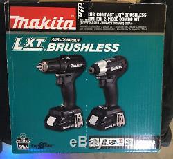 NEW MAKITA CX200RB 18V LXT Sub-Compact Brushless Driver Drill / Impact Combo Kit