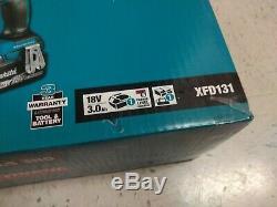 NEW Makita 18v LXT Brushless Cordless 1/2 Driver-Drill Kit (XFD131)