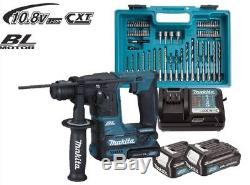 NEW Makita Cordless Drill Hammer HR166DSAE1 with 2 x 2,0 Batteries+Accessory Set