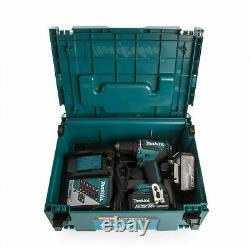 NEW Makita Drill Driver BL LXT DDF485RTJ 18v 2 Batteries 5 Ah + Charger