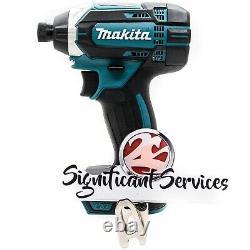 New Makita 18V XDT11 Cordless 1/4 Impact Driver Drill 3.0 Ah Battery Kit