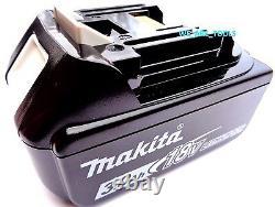 New Makita Brushless 18V XDT13 1/4 Impact, (2) BL1830B Batteries, Charger 18 Volt