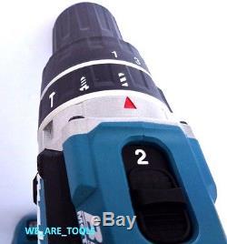 New Makita Brushless 18V XPH12 1/2 Hammer Drill, (1) BL1830 Battery, 1 Charger