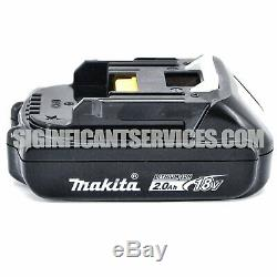 New Makita XFD06 18V LXT Brushless Cordless 1/2 Drill Driver 2.0 Ah Battery Kit