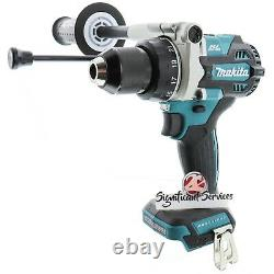 New Makita XPH14Z 18V LiIon Brushless 1/2 Hammer Driver Drill 5.0 Ah Batteries