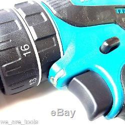 New Makita18 Volt XPH01 LXT Cordless 1/2 Hammer Drill, 2 BL1830 3.0 Batteries 18V