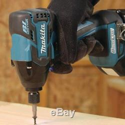 Power Tool Brushless Cordless 18 Volt 2.0Ah Lithium Ion Drill And Impact Driver