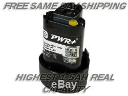 Pwr+ Battery 10.8v 1.5ah For Makita Makbl1013 Bl1013 1945551-4 Cordless Drill
