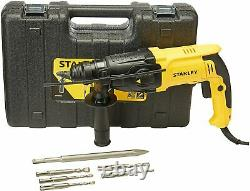 Stanley SHR263KA 1 SDS PISTOL GRIP ROTARY HAMMER DRILL 8.0 AMP